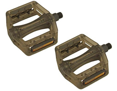 New Translucent Black 9/16 Pedals