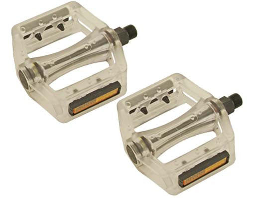 New Translucent White 9/16 Pedals