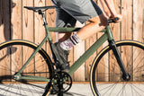 6061 Black Label v2 Army Green Fixed Gear Bicycle
