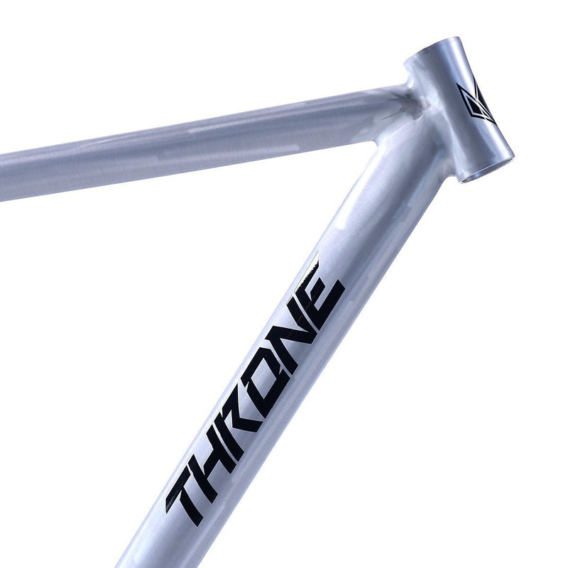 Throne Cycles Phantom Frame - Silver