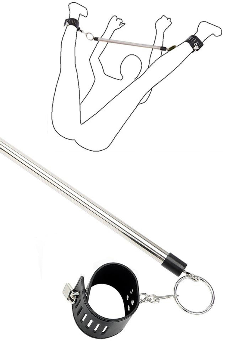 Eros Spreader Bar with Cuffs