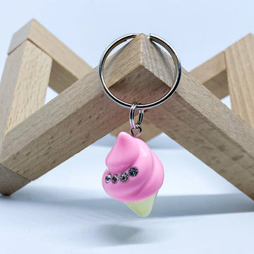 Diamond Ice Cream Charm