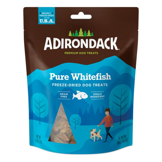 Adirondack Freeze-Dried Pure Whitefish Treats