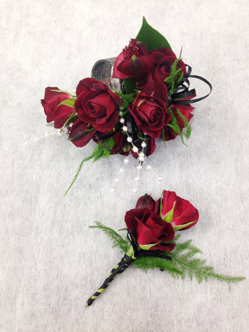 Corsage & Boutonniere (W801)