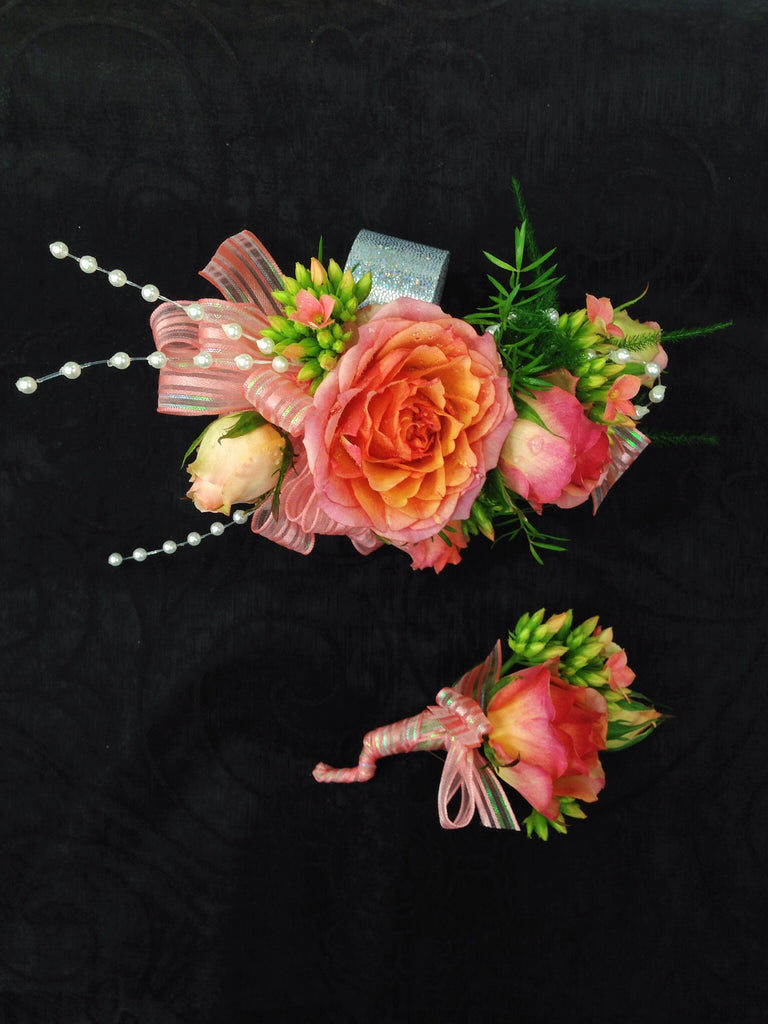 Corsage & Boutonniere (W803)