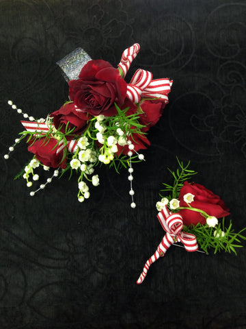 Corsage & Boutonniere (W804)