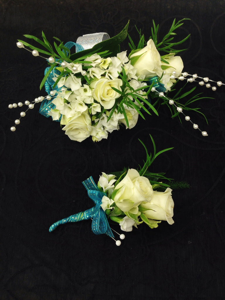 Corsage & Boutonniere (W808)