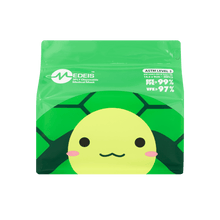 Load image into Gallery viewer, TURTLE GREEN<br>6 color earloops<br>14.5cm Length / For 5+ yo | 30pcs per bag