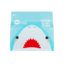 Load image into Gallery viewer, SHARK BLUE<br>6 color earloops<br>14.5cm Length / For 5+ yo | 30pcs per bag