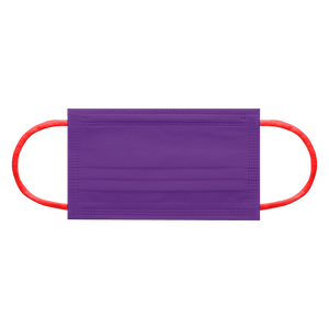 CIRCUS PURPLE<br>6 color earloops | 30pcs per bag
