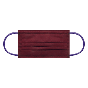 CIRCUS BURGUNDY<br>6 color earloops | 30pcs per bag