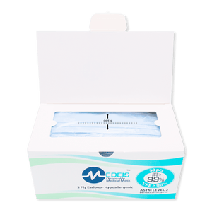 PREMIUM BLUE - ASTM L2 | 50pcs per box (vip)