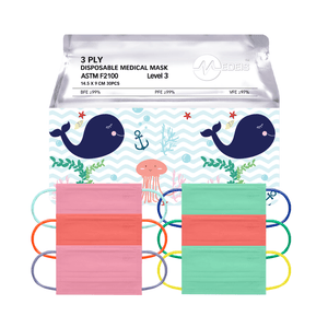 SEALIFE COLLECTION<br>6 color earloops<br>14.5cm Length / For 5+ yo | 30pcs per bag