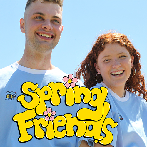 Spring friends - we're basically a brand for cute girls and their boyfriends