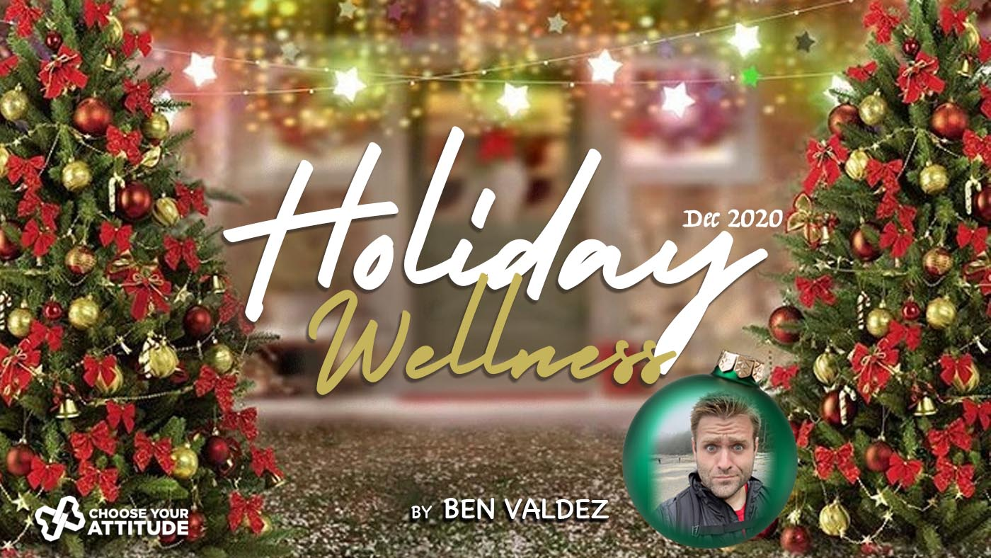 What would happen if you allowed yourself to be happy this season? - Ben Valdez