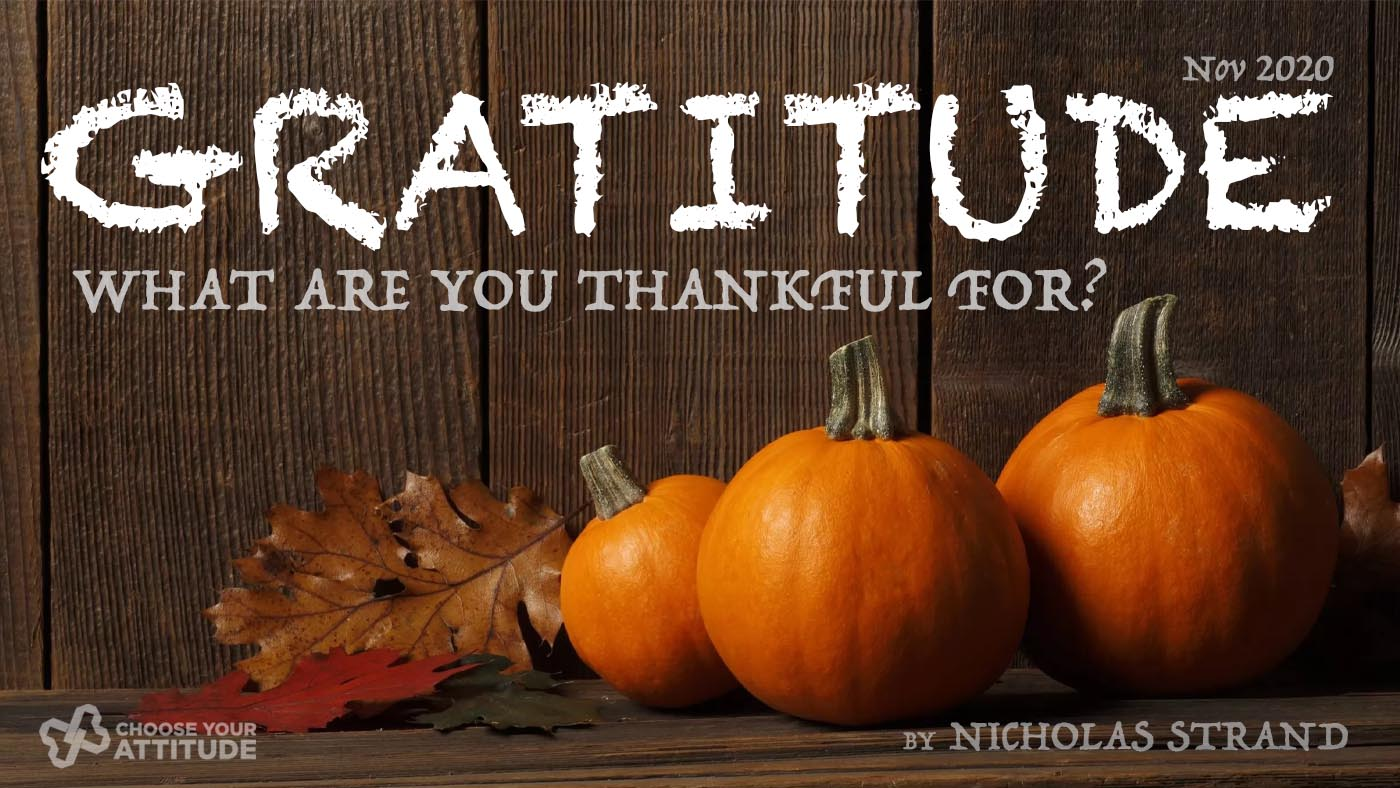 Gratitude, Are you truly thankful?