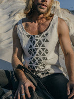 Load image into Gallery viewer, Men's Gypsy Print Vest