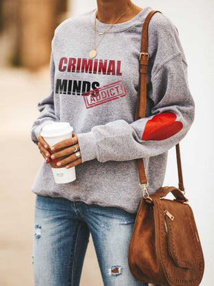 Criminal Minds Addict Long Sleeve Sweatshirt
