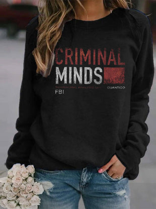 Woman's Criminal Minds Behavioral Analysis Sweatshirt