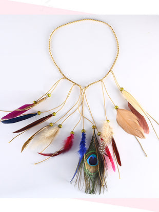 Women's Personalized Feather Hair Accessories