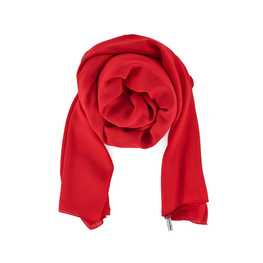 Holiday Red Scarf