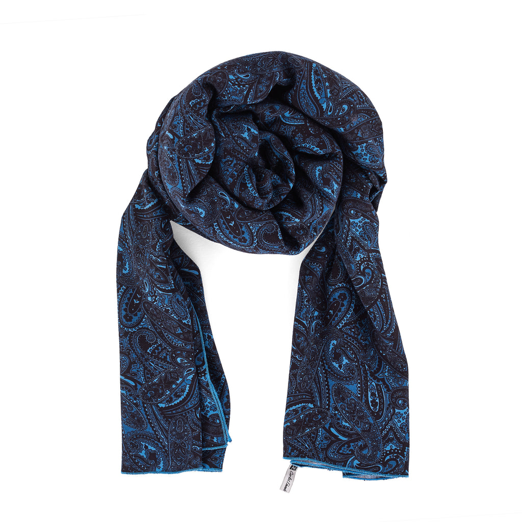 Not Your Common Blue Scarf