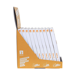 Glass straw sales displays 6 pieces curved - 10 packs