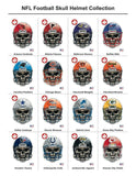 San Francisco 49ers Football Skull Die Cut Vinyl Decal - 4 Sticker Combo Pack