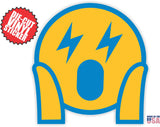 Los Angeles Chargers Emoji Sticker Set, All 8 New Emoji Stickers Included in Set