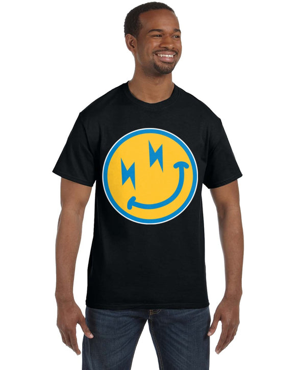 Chargers Happy Face Emoji T-Shirt