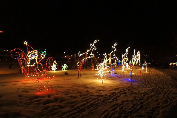 Airdrie Festival of Light in Alberta, Canada