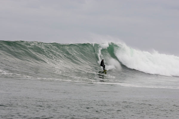 Winter Surfing in Nova Scotia, Canada
