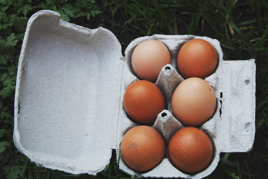 6 Eggs organic Rookery farm