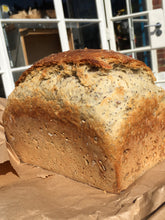 Load image into Gallery viewer, English seeded tin loaf 1.3kg