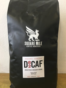 Coffee beans, decaf, square mile, 1kg