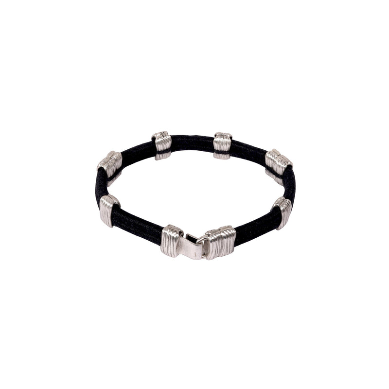 Kimana Monarch Thread Unisex Sterling Silver Bracelet