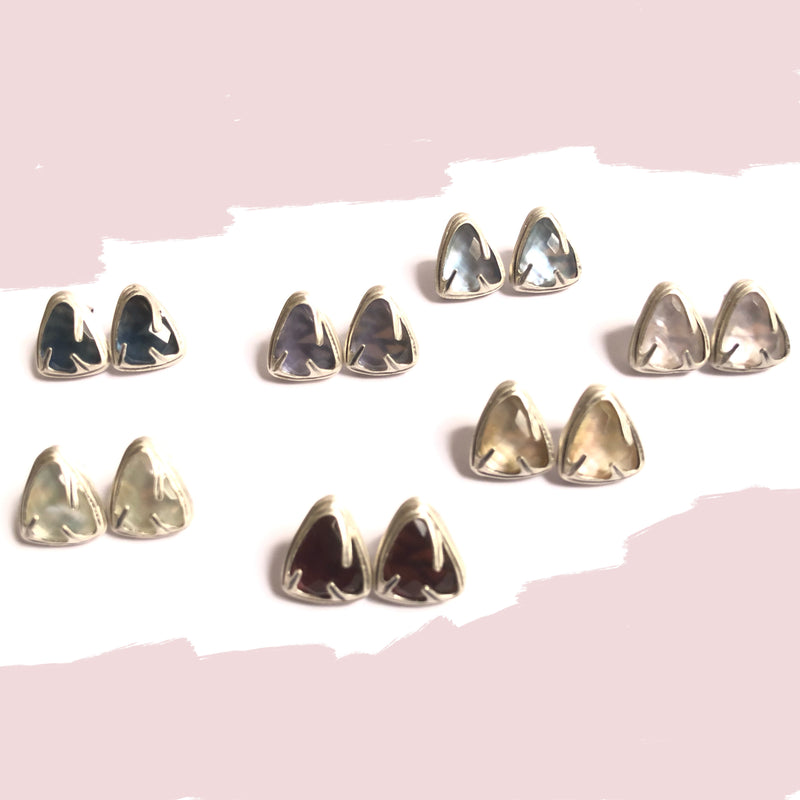 Kimana Lady Sterling Silver  Stud Earrings