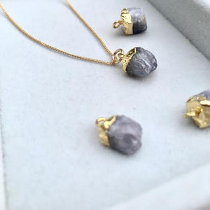Birthstone Necklace — (December) Tanzanite - Decadorn
