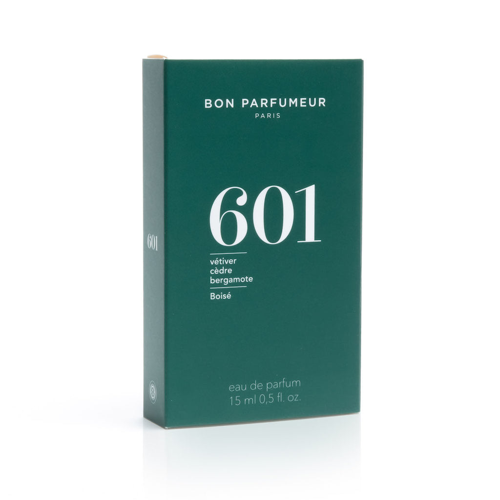 Eau de parfum 601: vetiver, cedar and bergamot - Decadorn