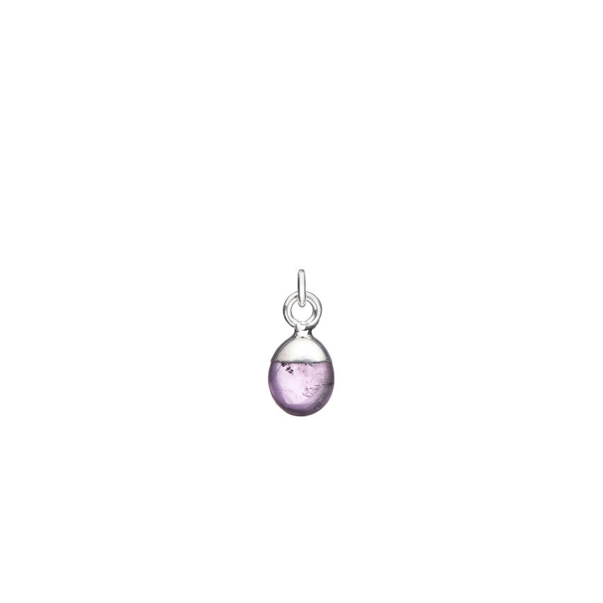 Additional Stone - Tiny Tumbled Birthstone (Silver) - Decadorn