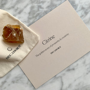 Crystal - Citrine (Success) - Decadorn