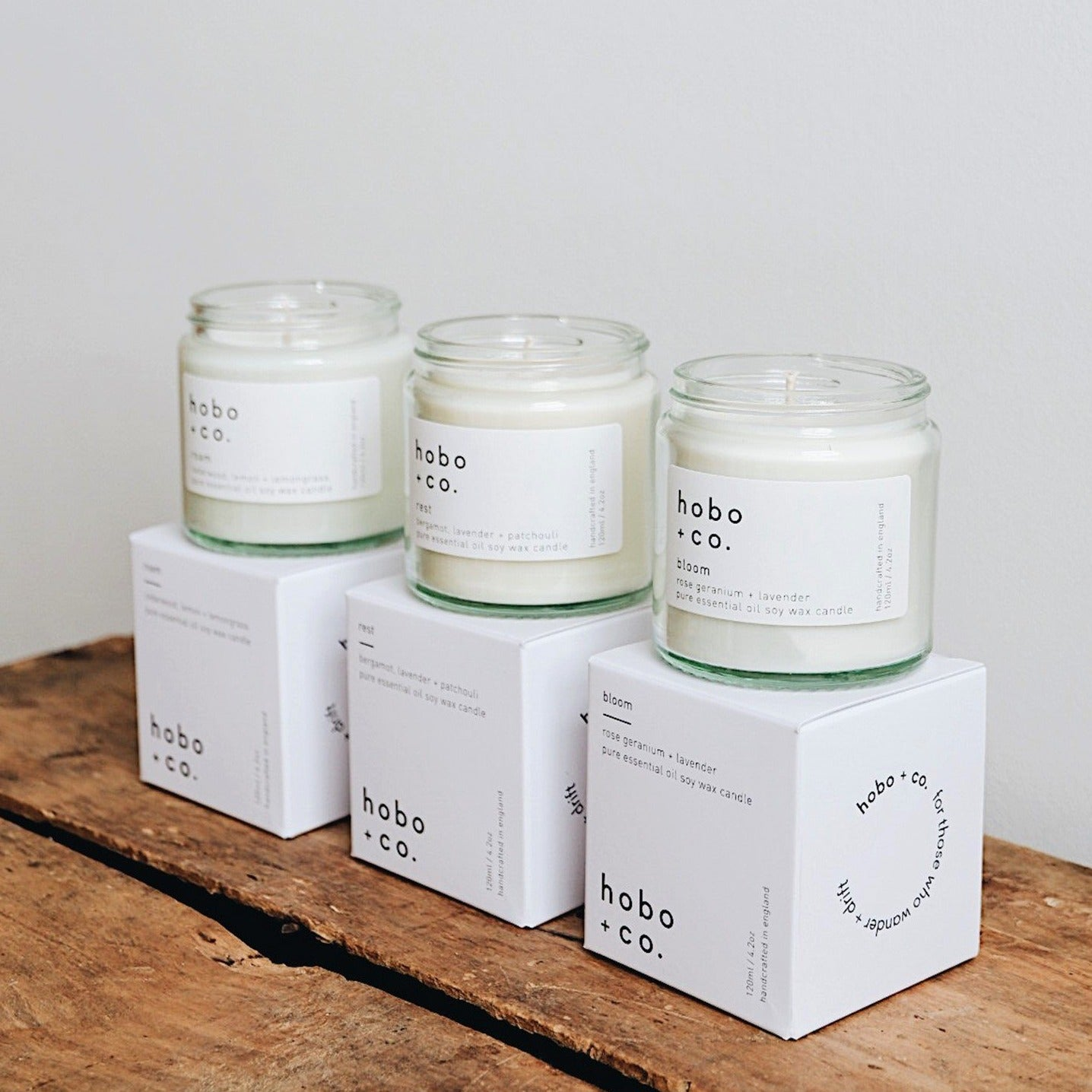 Hobo & Co Candle  - Roam - Decadorn