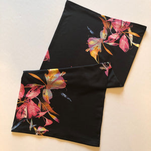 Floral Convertible Face Mask Foulard - Face Mask Love