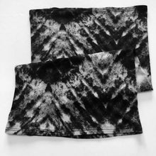 Load image into Gallery viewer, Ash Tie Dye Print Convertible Face Mask Foulard - Face Mask Love