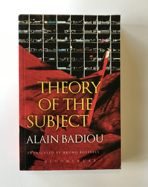 Badiou, Alain - Theory of the Subject