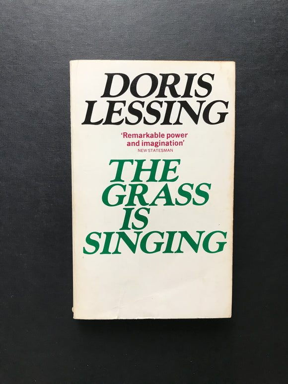 Lessing, Doris -The Grass is Singing