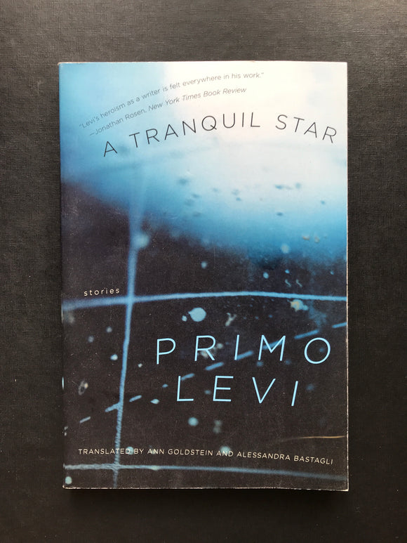Levi, Primo -A Tranquil Star, Stories