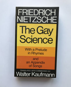 Nietzsche, Friedrich - The Gay Science