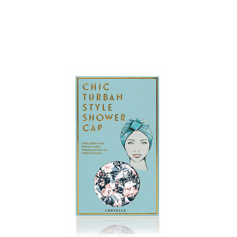 Amelie Shower Cap in Painted Peony