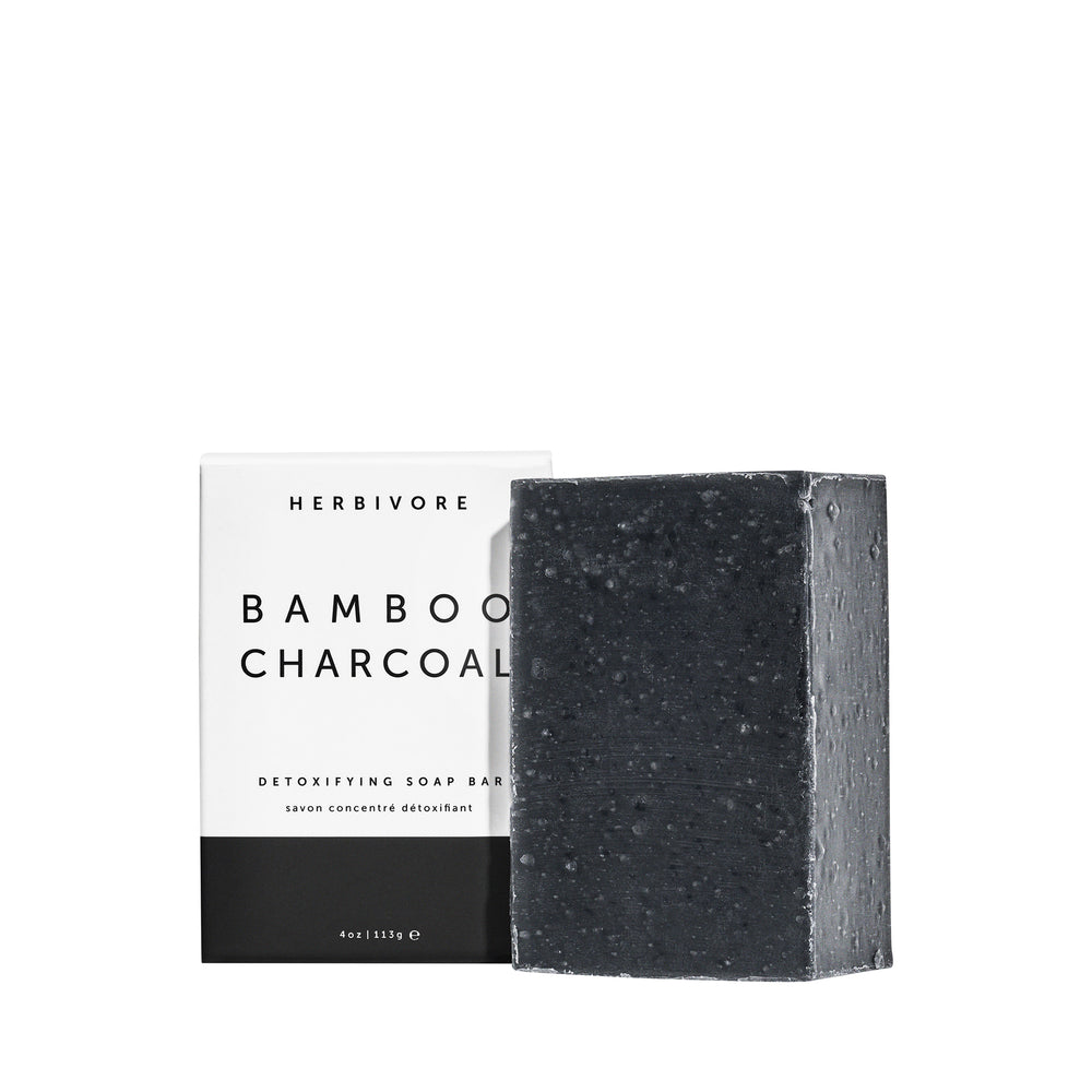 Bamboo Charcoal Cleansing Soap Bar
